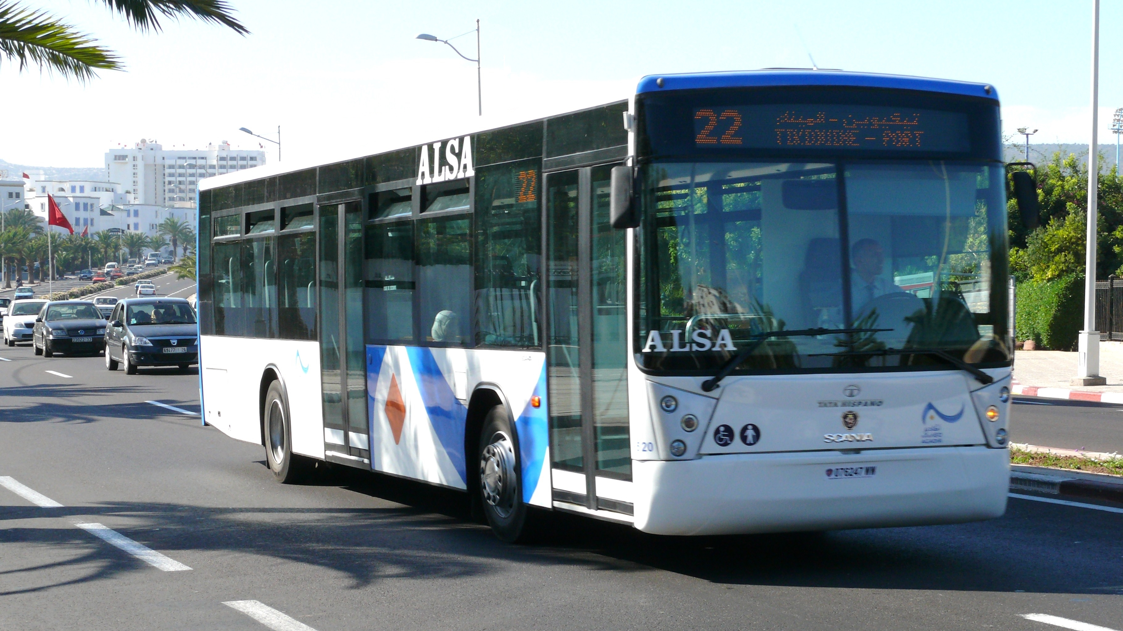 Agadir – transport urbain : Alsa