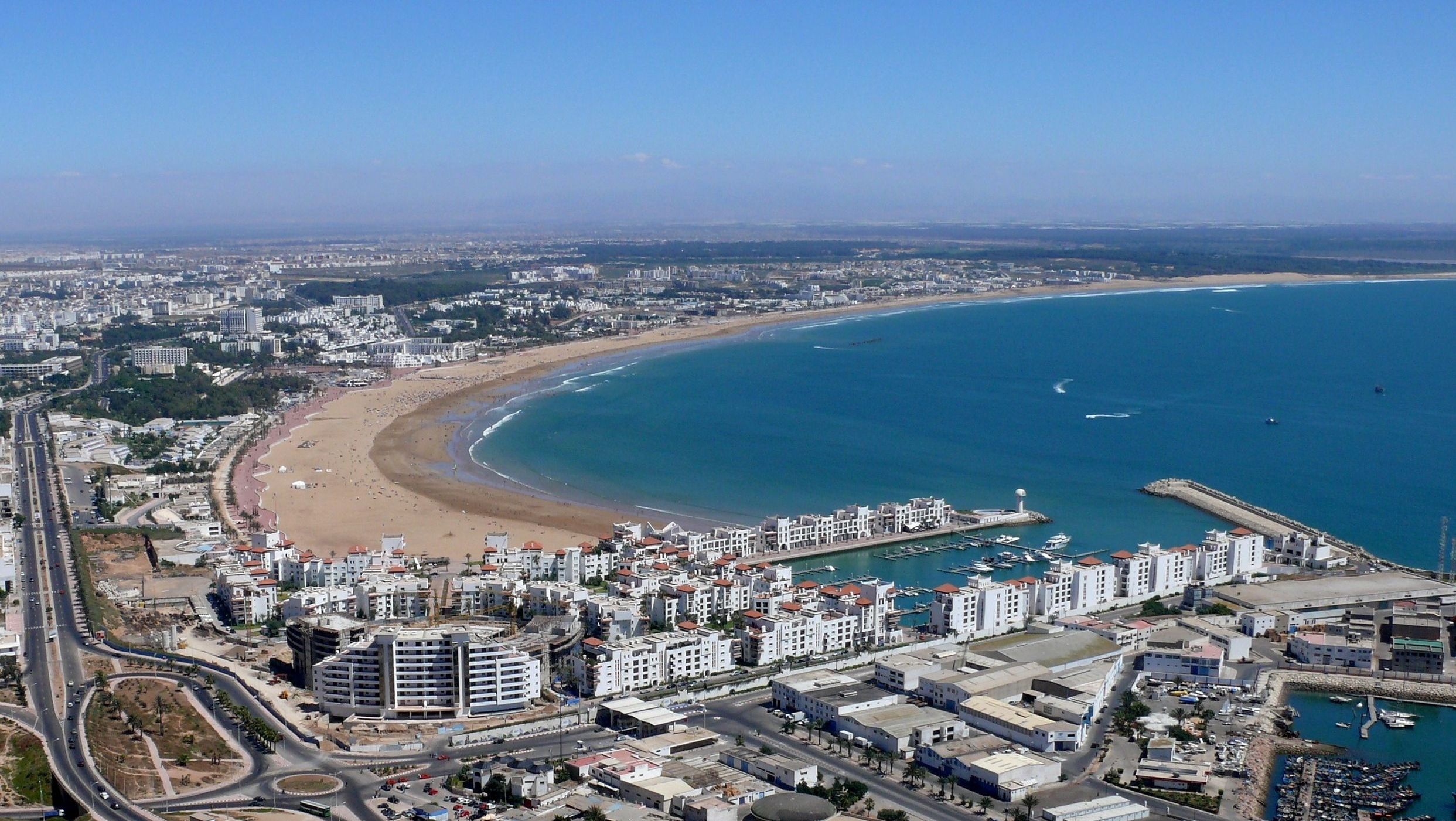Unlimited travel: The city of Agadir: The sun and beach 10 Most Beautiful Places In The World Wallpaper