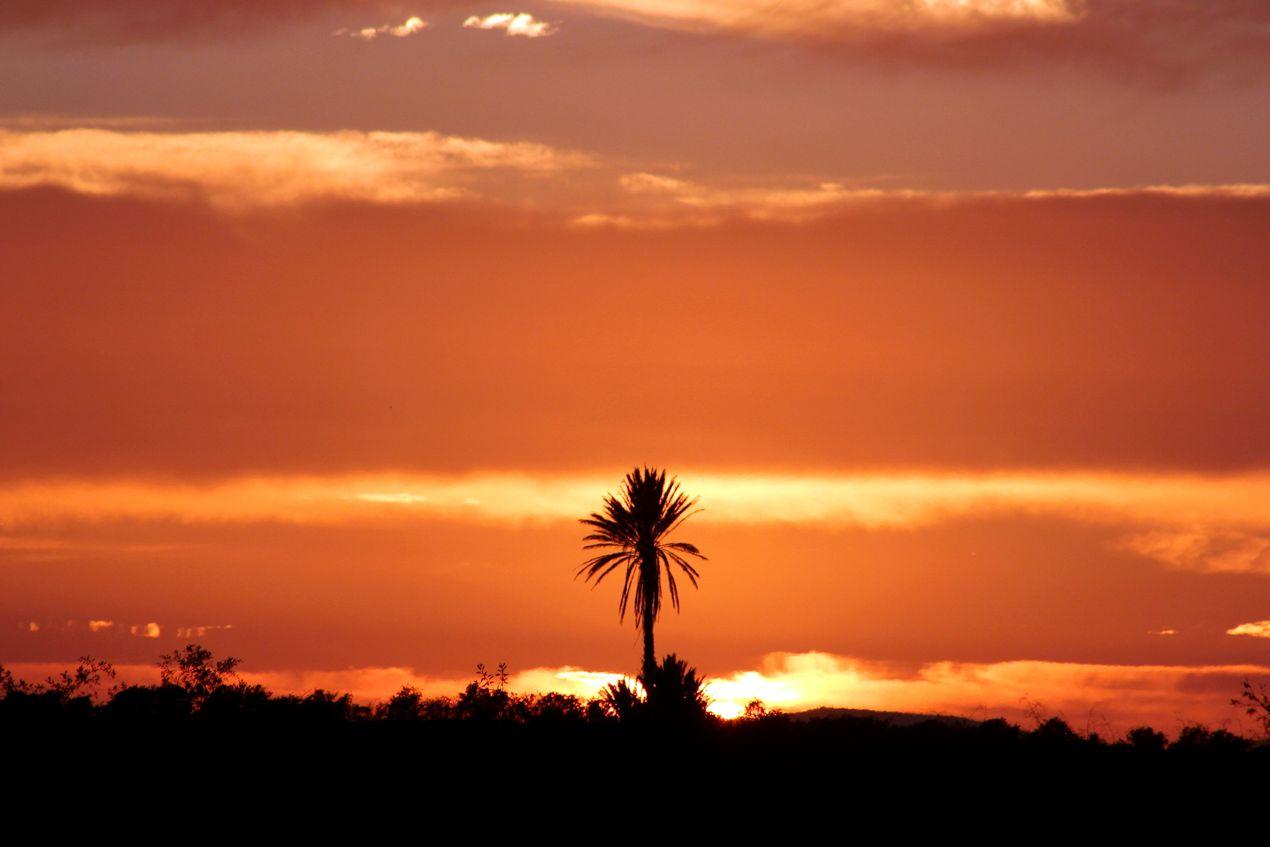 Coucher du soleil hier soir 18 heures du c t de l embouchure du souss agadir blog par - Heures coucher du soleil ...