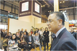 Le marché ibérique, 2e marché émetteur après la France, est une priorité pour le Maroc. Ce qui pousse Lahcen Haddad  à défendre la stratégie du Maroc auprès des TO, c'est la résilience du marché ibérique par rapport à la crise. En effet, les arrivées espagnoles ont enregistré une hausse de 4% en 2012