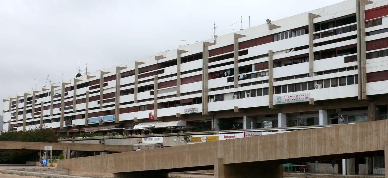 Immeuble A - Architecte : RIOUX