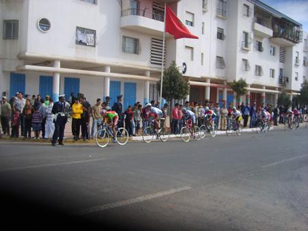 Tour cycliste Maroc