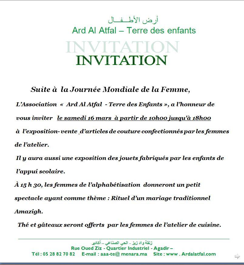 modele lettre invitation inauguration gratuit