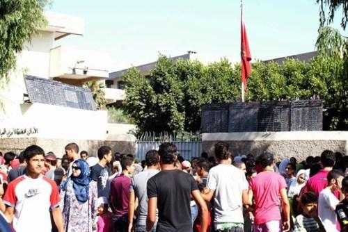 A Casablanca, comme partout au Maroc, les épreuves du bac restent le moment phare de l'année pour les lycéens concernés. /K. Alaoui