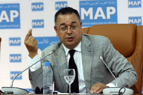 Le ministre du Tourisme Lahcen Haddad./DR