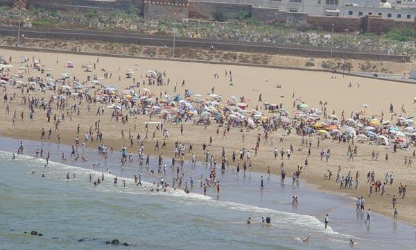 Le rapport souligne à cet effet un retour à la normale du nombre des plages conformes à la baignade, et ce après une nette dégradation l'année dernière due au crues. (Photo : Kartouch)