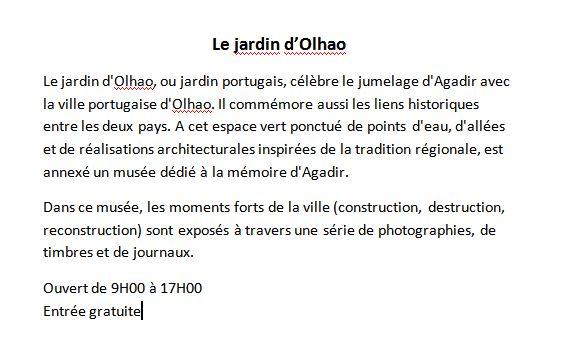Jardin et musée d'Olhao