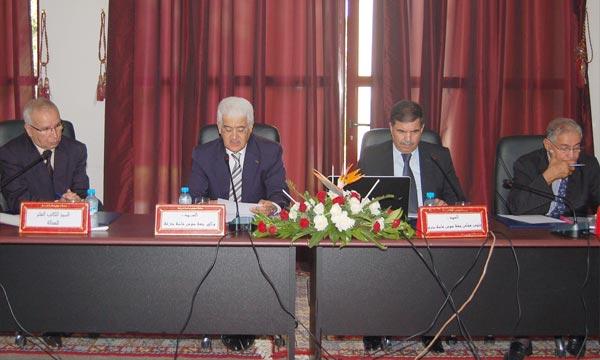 Le Conseil régional Souss-Massa-Drâa tient à Inezgane sa session ordinaire du mois de septembre. (Photo : MAP)