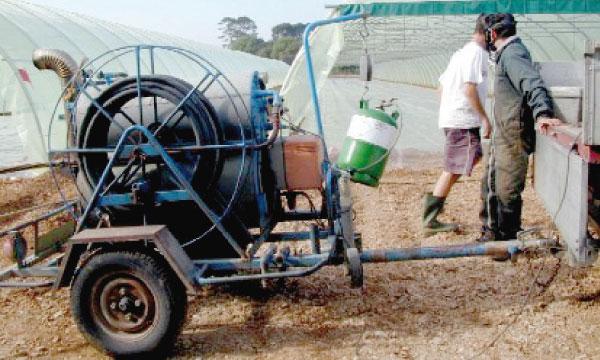 Le bromure de méthyle continue à être utilisé malgré son degré de toxicité pour la santé et l'environnement.