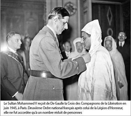 De Gaulle Mohamed V