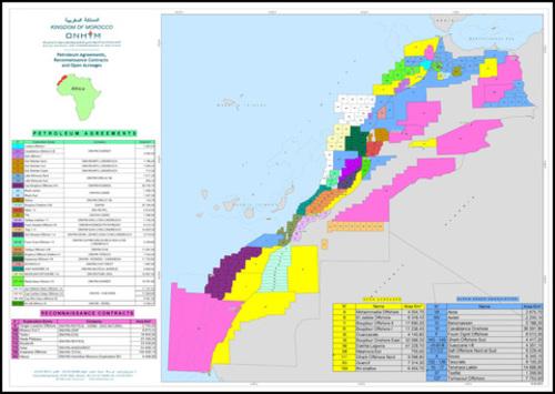 L'Office national des hydrocarbures et des mines (ONHYM) a annoncé mardi que la société Kosmos Energy a finalisé avec succès la cession de parts d'intérêt dans les accords pétroliers Essaouira Offshore, Foum Assaka Offshore et Tarhazoute Offshore à la société pétrolière British Petroleum (BP). /DR