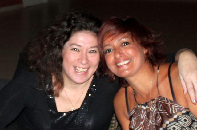 Claudia Polizzi et Badia Louali