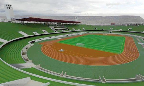 D'une capacité de 45.000 places dont 10.000 couvertes, ce nouveau stade a été inauguré le 11 octobre. (¨Photo DR)