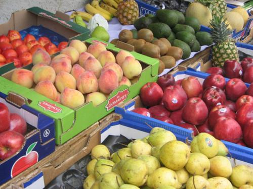 """Entre septembre et octobre, les prix ont baissé de 3,6% pour les """"fruits"""", de 0,7% pour les """"viandes"""" et de 0,4% pour les """"huiles et graisses"""", selon le HCP. /DR"""