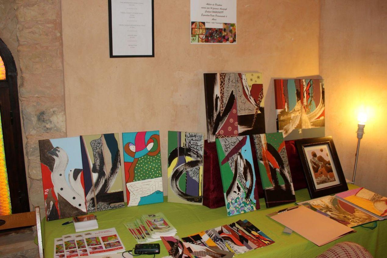 Talayte, l'Association des Femmes peintres d'Alma