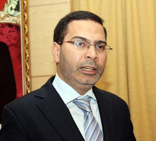 Le ministre de la Communication, Mustapha El Khalfi. /A. Alaoui