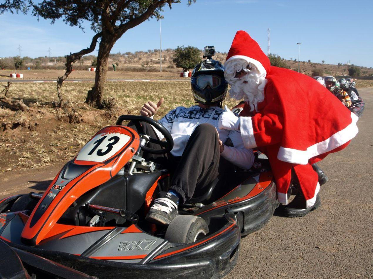 Le Père Noël avec Hugo Diaz