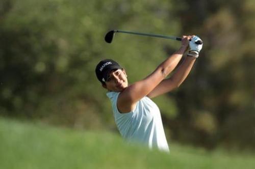 Maha Haddioui est la première golfeuse professionnelle du Maroc et la seule qui dispute le tour féminin européen. /DR