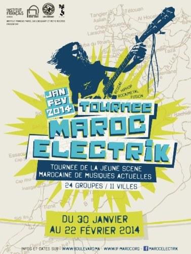 Une sélection des meilleurs groupes issus d'une formation de jeunes artistes de la scène des musiques actuelles sera en tournée dans 11 Instituts français, du 30 janvier (Rabat) au 22 février (Oujda). /DR