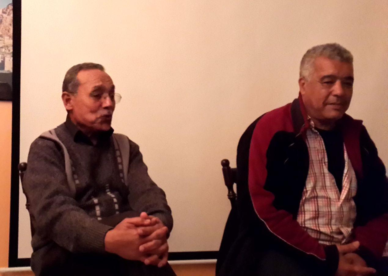 Lahcen Roussafi et Larbi Babahadi