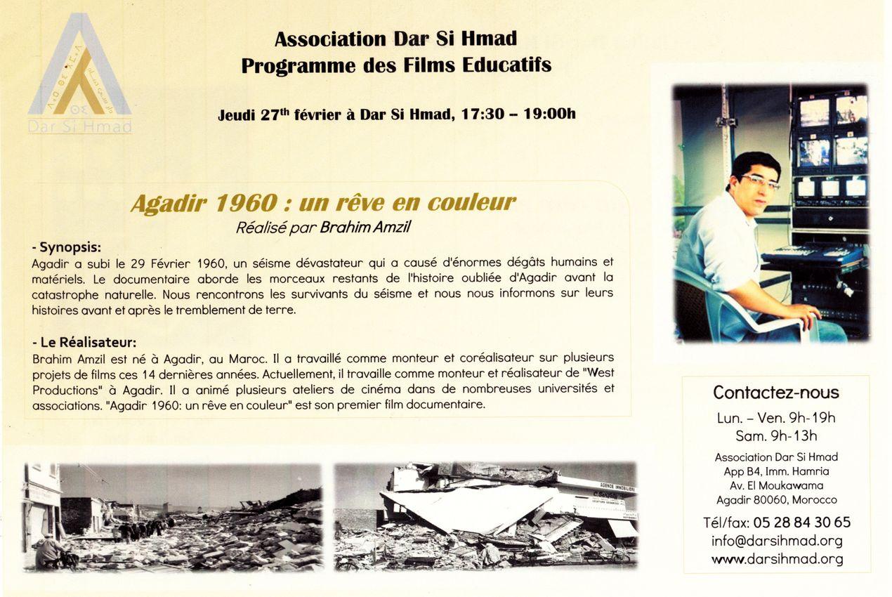 Agadir 1960 rève en couleur