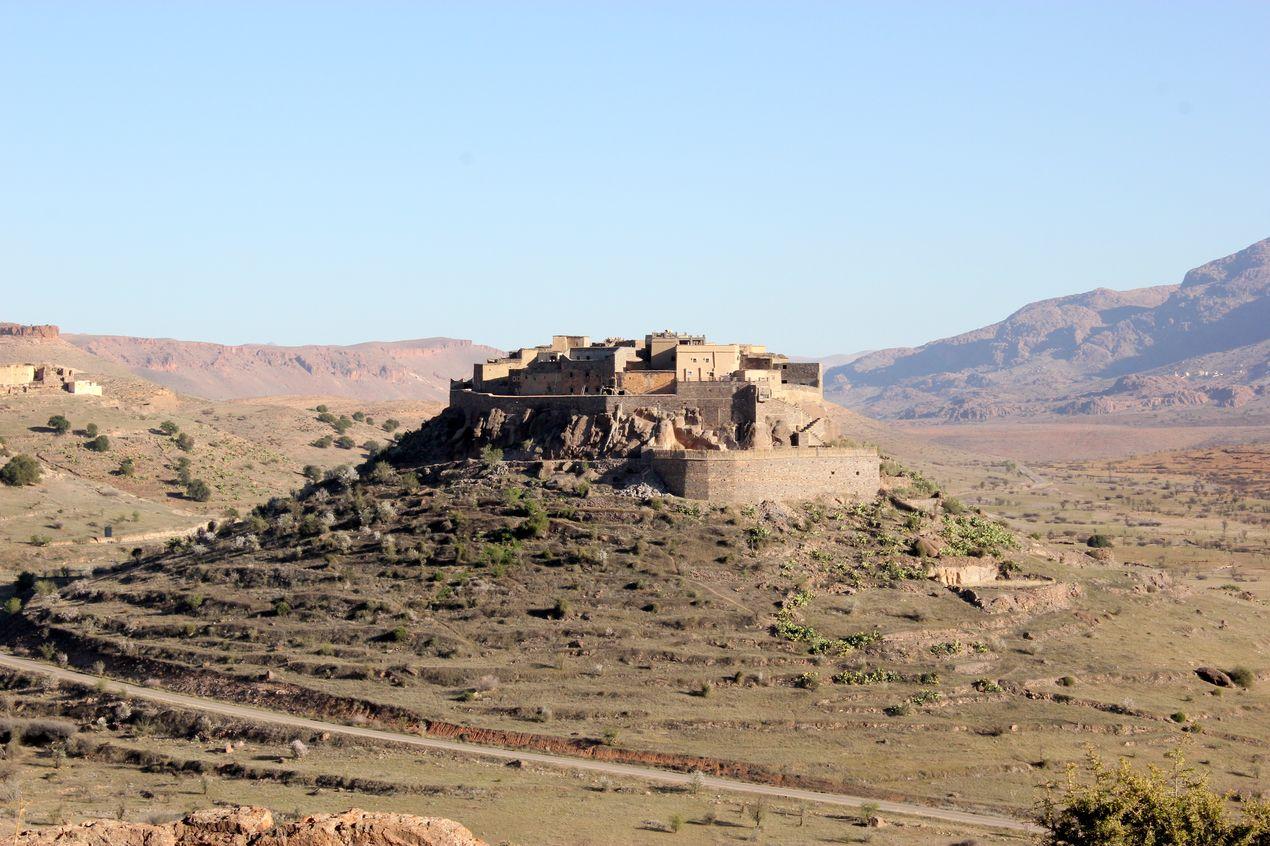 La très belle kasbah de Tizourgane