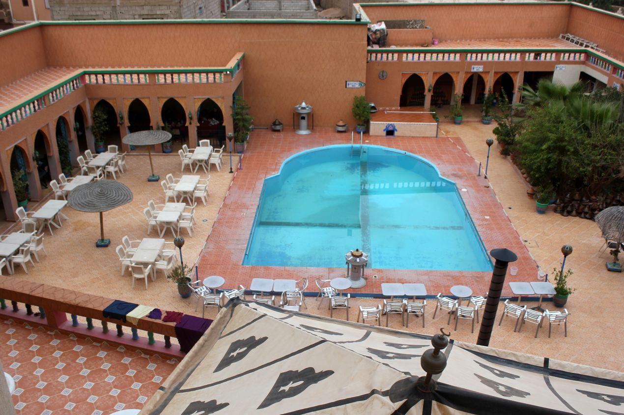 L'hôtel Tifawine où nous étions hébergés :