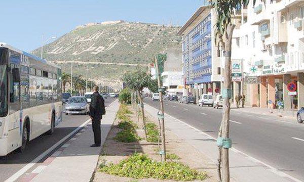 Le plan de déplacement urbain de Agadir, devrait permettre, lors de sa phase d'application, de disposer d'une vision stratégique à la problématique de la mobilité en milieu urbain. Ph : cityscapes.ma