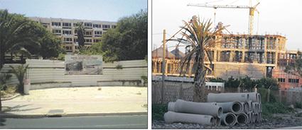 Plus d'une dizaine de chantiers sont à l'arrêt ou au ralenti dans le Founty. En ville, sur l'avenue Mohammed V,  le projet de réaménagement de l'hôtel Salam n'a toujours pas bougé malgré les annonces depuis plus de deux ans