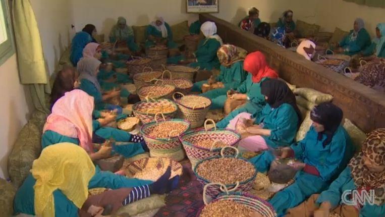 Inside Morocco's argan oil co-op
