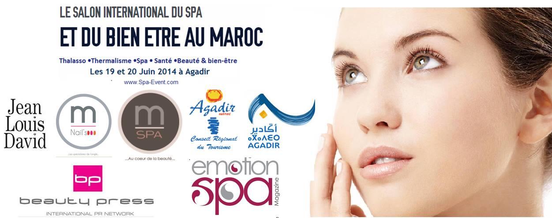 Salon international du spa et du bien tre au maroc les 19 for Salon spa et bien etre