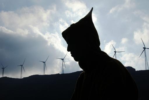 AFP/AFP/Archives - Le parc éolien de la Compagnie Eolienne du Détroit (CED), près de Tetouan (Maroc).