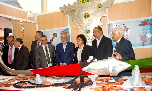 L'accent a été mis sur le rôle de ce genre de manifestations dans la promotion des produits de l'artisanat au niveau de la région Souss-Massa-Drâa. Ph : MAP