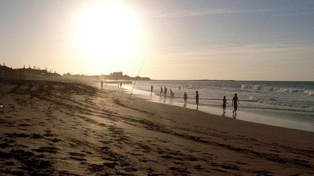 La plage de Dar Bouazza, proche de Casablanca (DR).