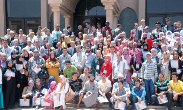 plus de 300 artisans et artisanes, évoluant dans la filière des babouches locales, ont bénéficié de ce programme.