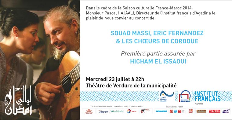 Invitation Souad Massi
