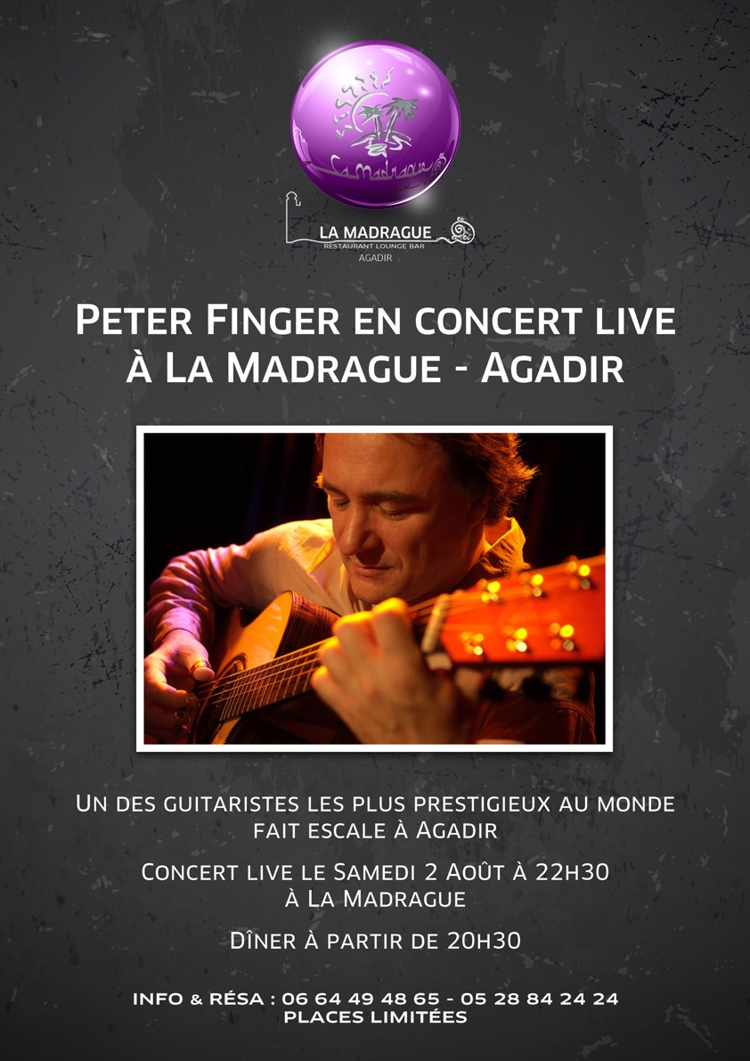Affiche Peter Finger La Madrague