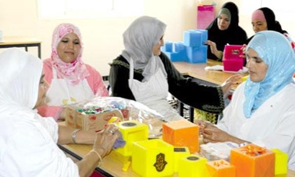 15 projets AGR d'un montant global dépassant les 3 MDH. L'INDH capitalise sur ses acquis afin de lutter davantage contre la pauvreté et l'exclusion sociale à la préfecture d'Agadir Ida Outanane. Ph : leseco.ma