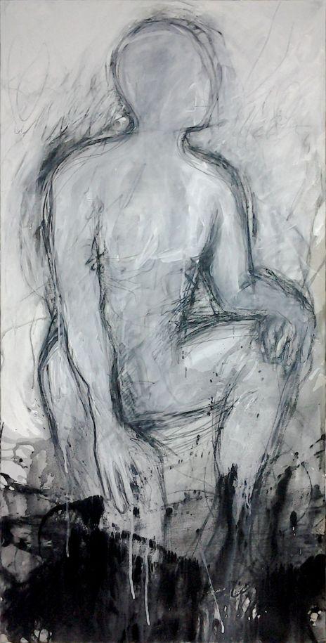B Techniques mixte 9  120 x 60 cm 2014