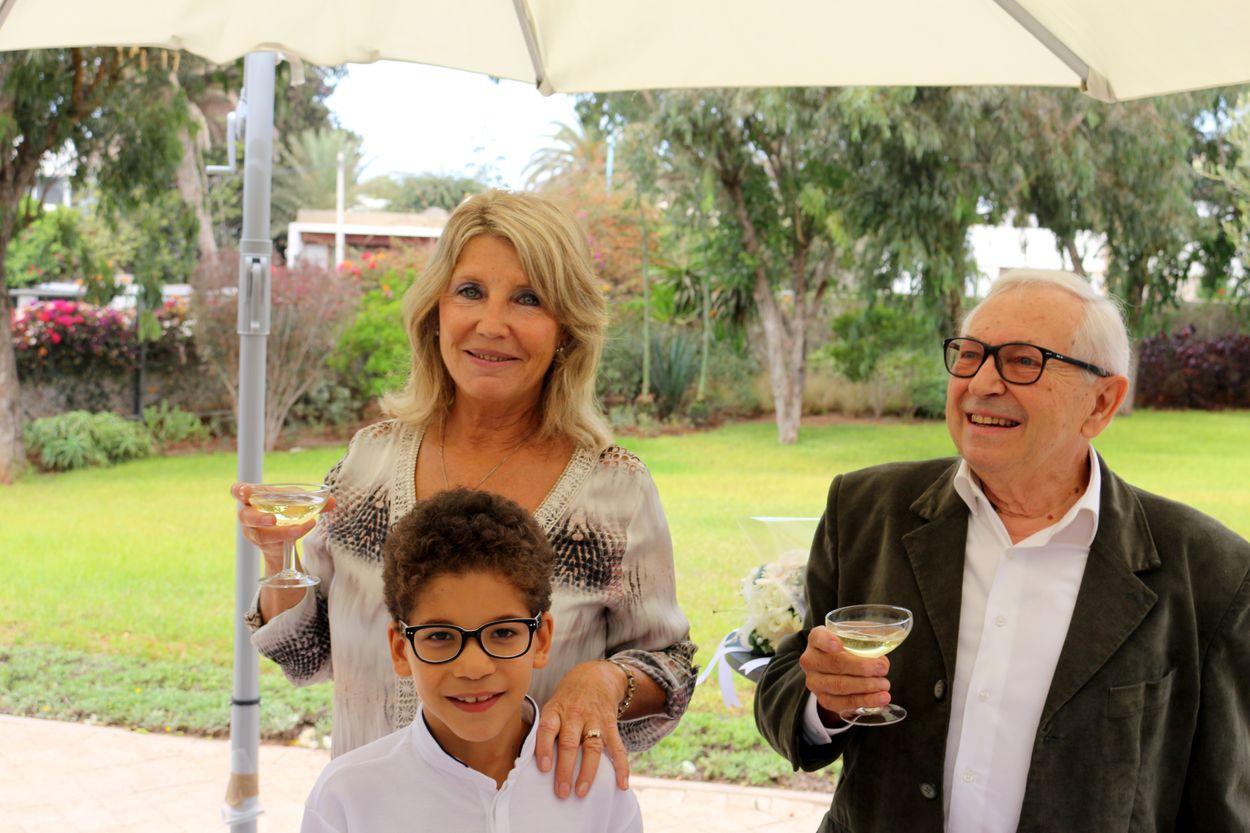 Chantal, Mehdi et Michel
