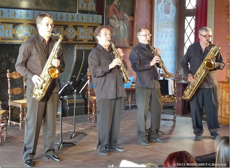 Quatuor de saxophones Jean-Yves Fourmeau