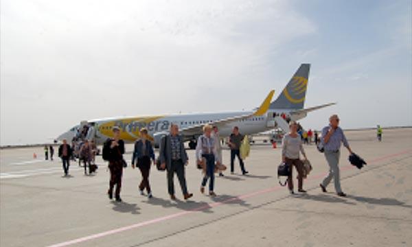 C'est une première pour la destination. Le premier charter back to back à partir de l'Islande et à destination d'Agadir Ph : MAP