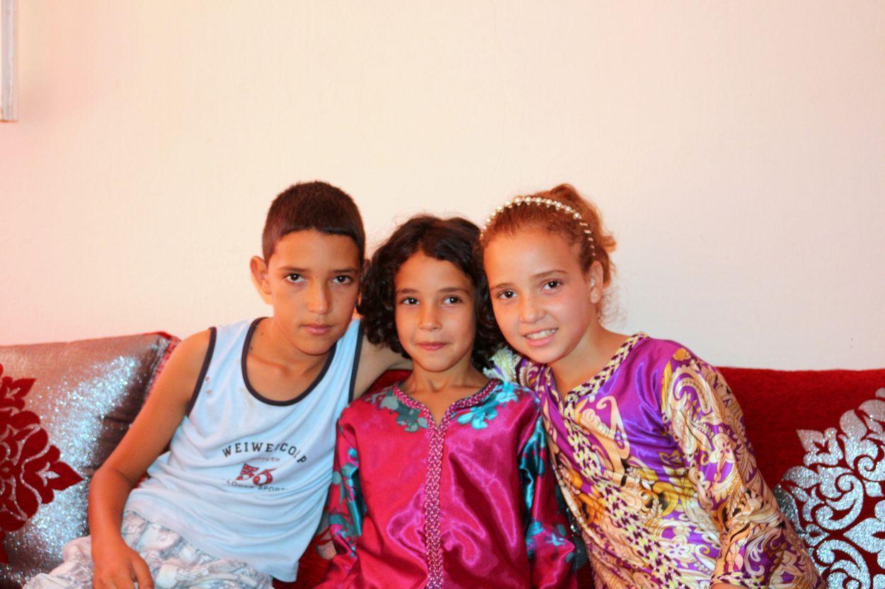 Achraf, Hajar et Asma