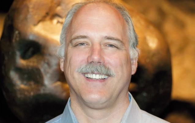 Denton Ebel, conservateur au Musée d'histoire naturelle à New York
