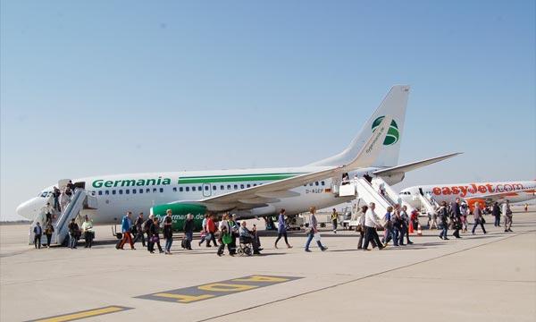C'est une première pour la destination. La ville d'Agadir est liée par un vol direct à Dresde, ce vol direct, assuré par la compagnie Germania Flug. Ph : MAP