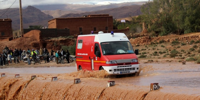 Les dernières pluies ont jusquelà fait 36 morts.©AFP