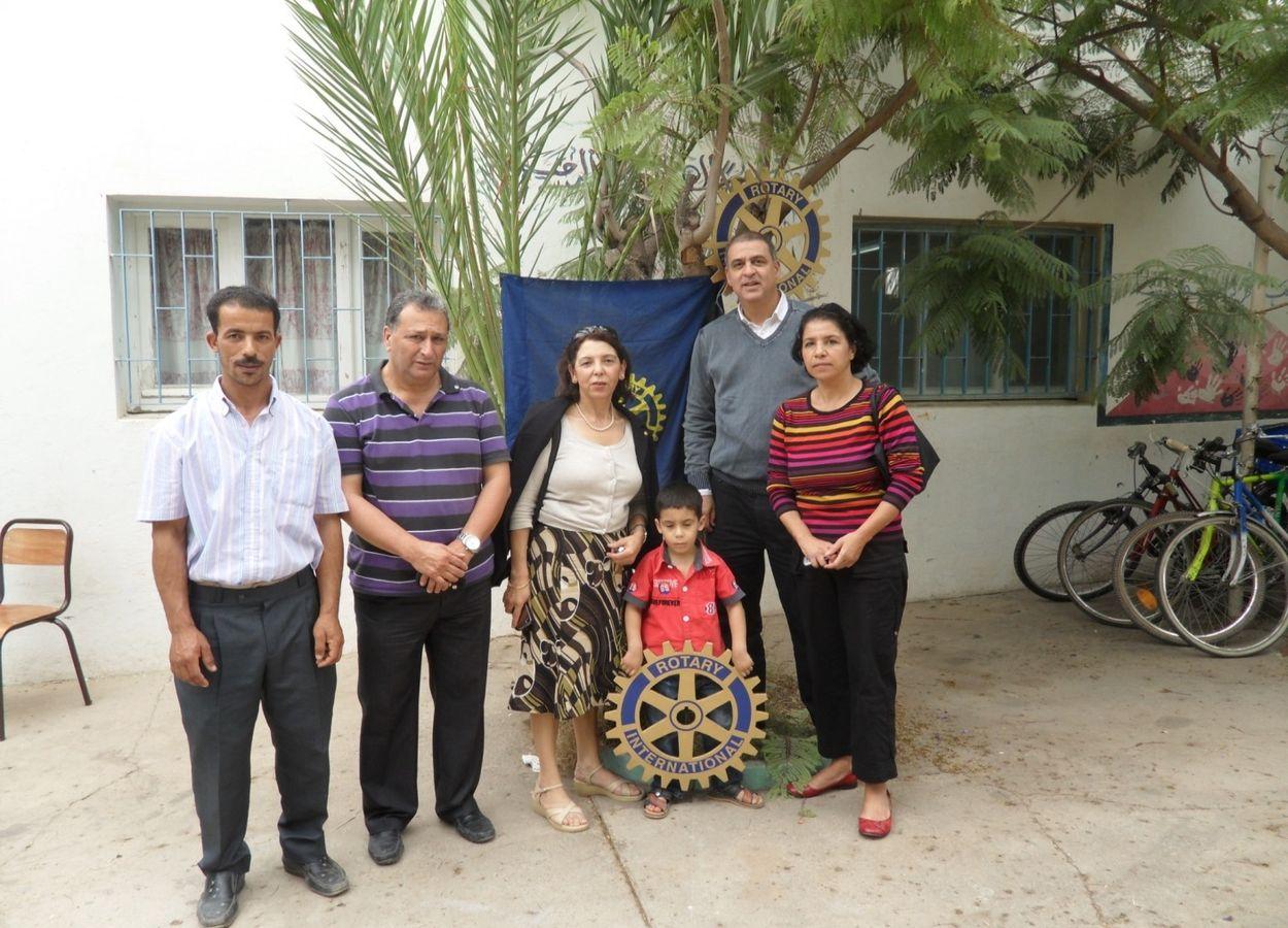 Premier enfant opéré du cœur par le club Agadir Vallée du Souss. (Avant l'AIPM)