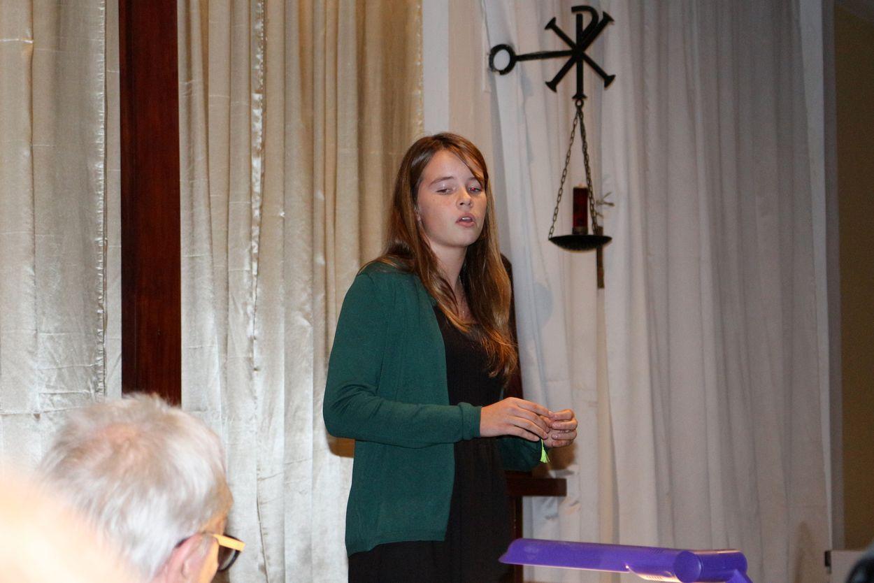 La jeune soprano Victoire Marty