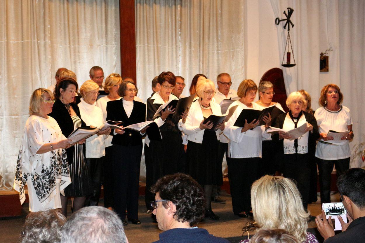 La chorale de l'UFE d'Agadir
