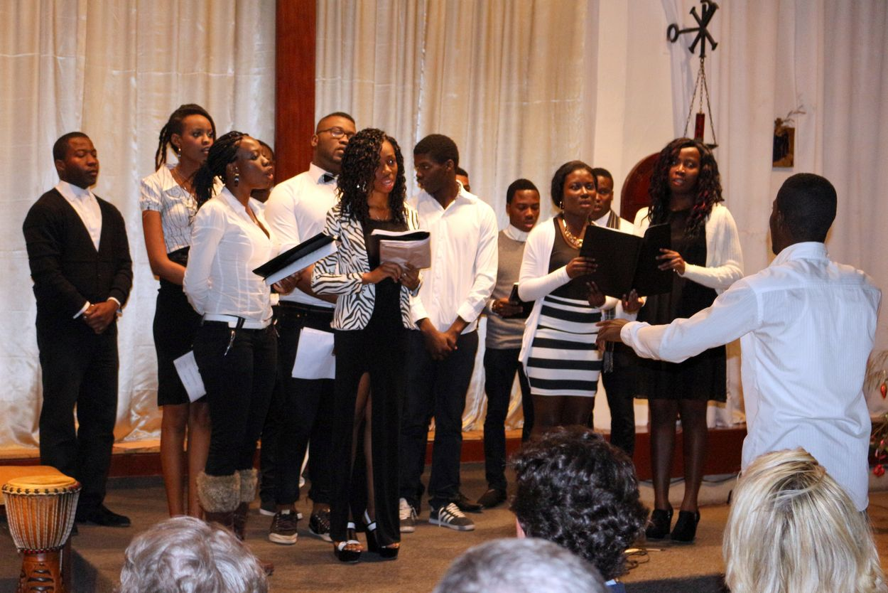 La chorale Notre Dame d'Afrique